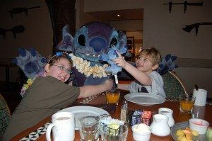 Jon introduced Stitch to Stitch