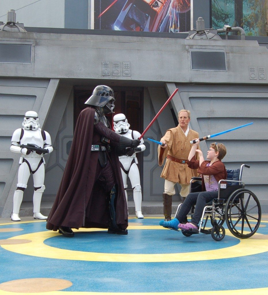 Wheelchair Jedi