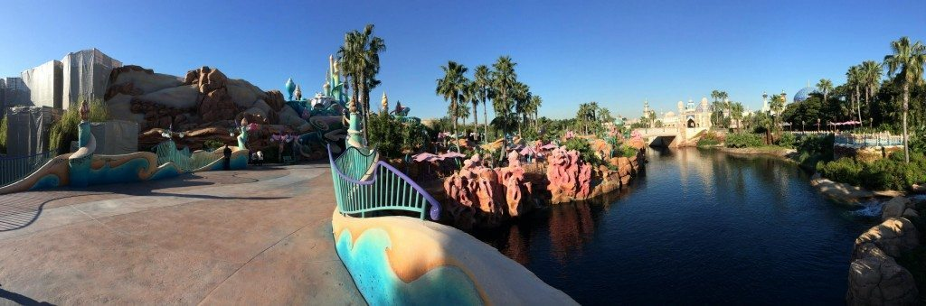 Panoramic View of Mermaid Lagoon and Arabian Coast