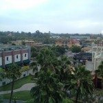 View of Downtown Disney from the Disneyland Hotel