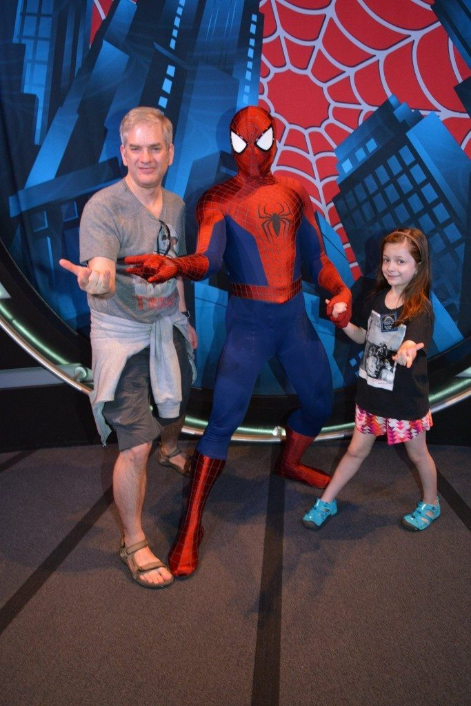 Spider-Man at Disneyland