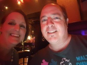 Tim & Angie at La Cava del Tequila