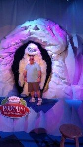 Don and the Abominable Snowman from Rudolph the Red Nosed Reindeer at Dollywood