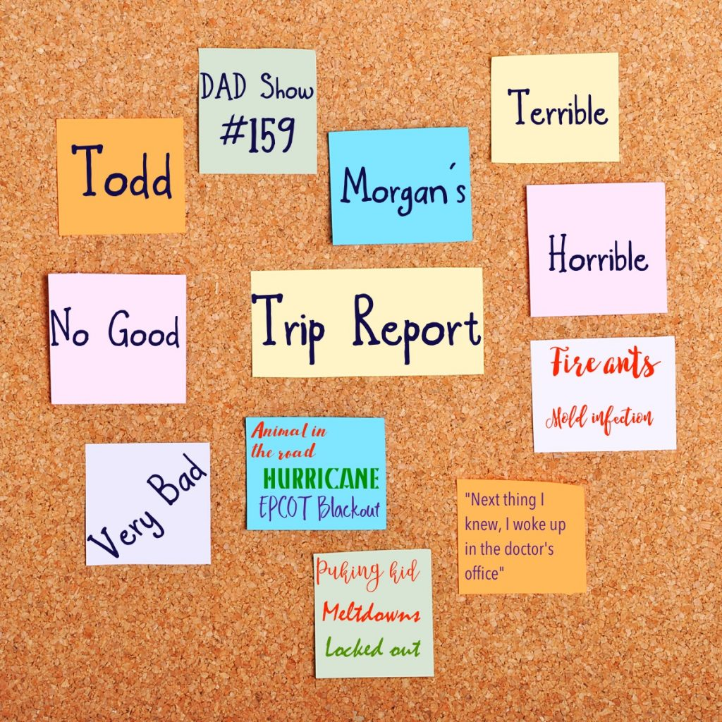 Todd Morgan's Terrible, Horrible, No Good, Very Bad, Trip Report