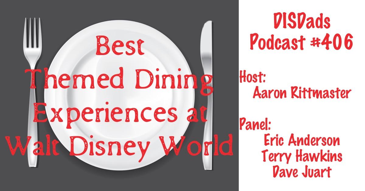 Best Themed Dining Experiences at Walt Disney World