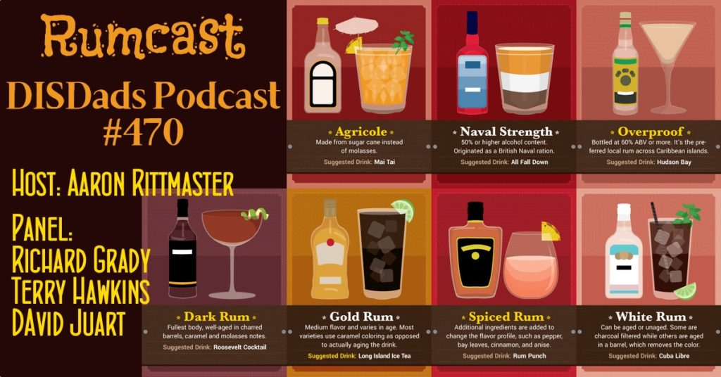 RUMCAST - DISDads Podcast #470