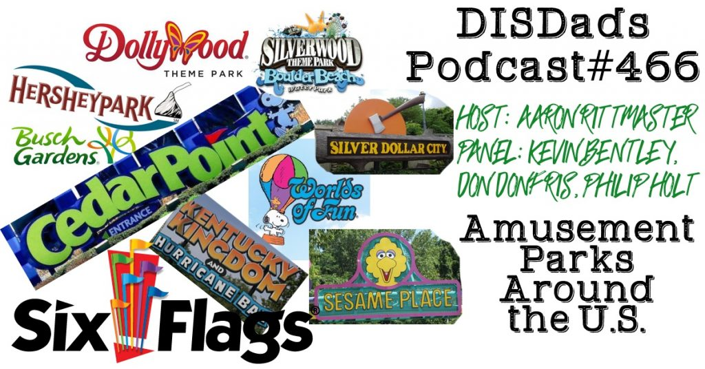 Amusement Parks Around the U.S. - Episode 466
