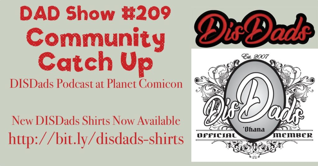 DAD Show #209 -Community Catch-Up
