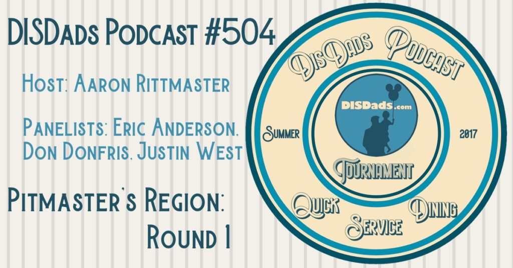 WDW QSD Tournament Pitmaster's Region: Round 1 - Episode 504
