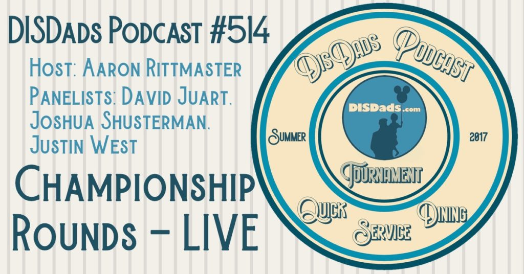 WDW QSD Tournament: Championship Rounds LIVE with Aaron Rittmaster, Josh Shusterman, Justin West, and Dave Juart - Episode 512