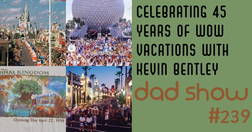 Celebrating 45 Years of WDW Vacations with Kevin Bentley