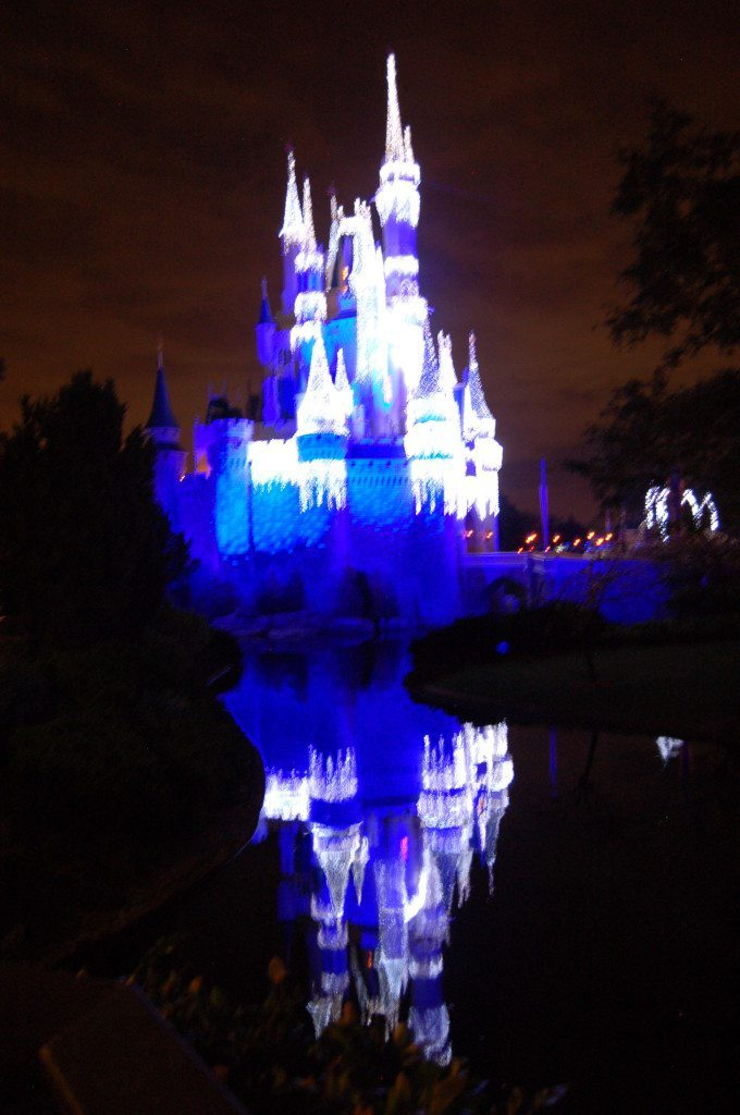 Castle Dreamlights Reflection
