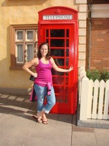 UK Phone Box at Epcot
