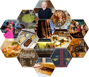New WDW dining collage