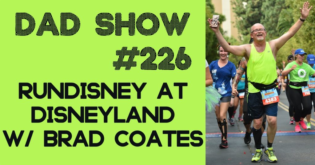 runDisney at Disneyland with Brad Coates and host Aaron Rittmaster