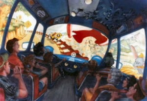 Roger Rabbit Toontown Transit